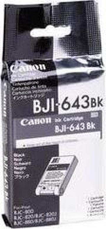 Cartus Imprimanta Cerneala Original CANON BJI-643B de la Green Toner