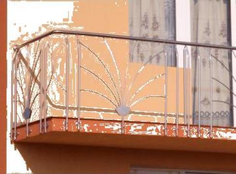 balustrade inox balcon exterior pribilesti durinox srl id 1820049. Black Bedroom Furniture Sets. Home Design Ideas