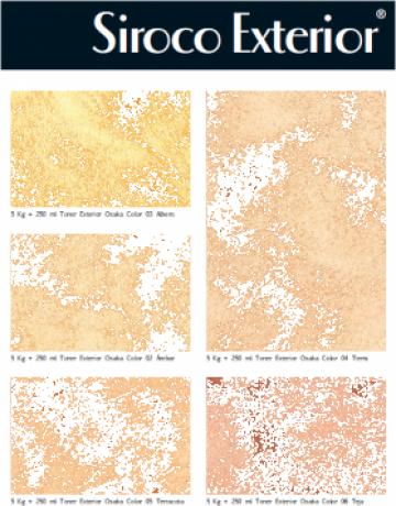 Culori De Tencuiala Decorativa.Vopsea Decorativa Siroco Exterior 15 Kg Bucuresti De Arte