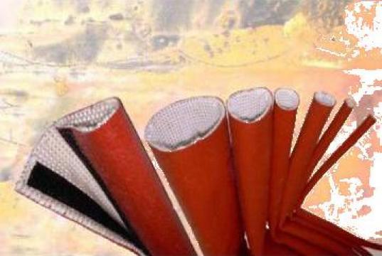 Tuburi fibra sticla cu invelis siliconic de la Nefatec