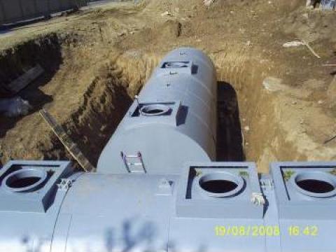 Rezervoare metalice cu pereti dubli de la Metalmax