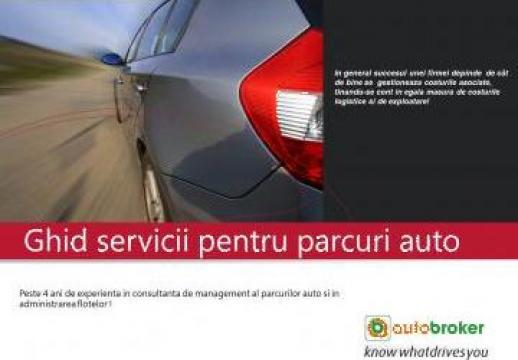 Ghid servicii pentru parcuri auto de la Autobroker - Administrare Flote