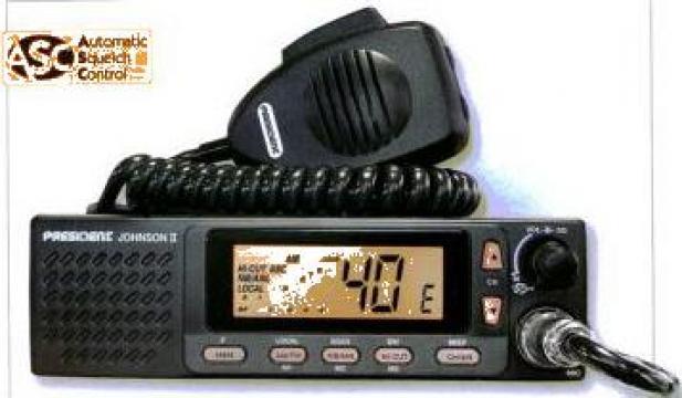 Statie radio President Johnson2-12-24Vcc de la Electro Supermax Srl