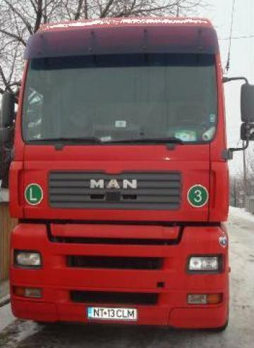 Cap tractor Man TGA XXL cu semiremorca