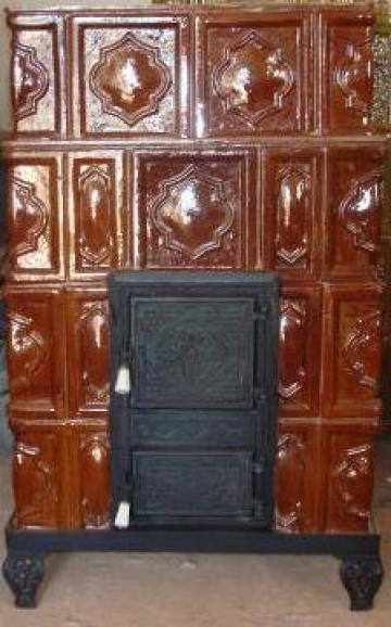 Sobe de teracota premontate poiana lacului marmota for Dedeman sobe teracota cu plita
