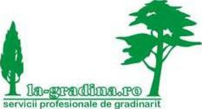 Gazon, sisteme de irigatii, pavaje decorative de la La-gradina.ro