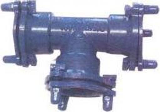 Fitinguri fonta ductila Fitting BS EN545 - EX Socket Tee de la Baoding Hualong Casting Co., ltd