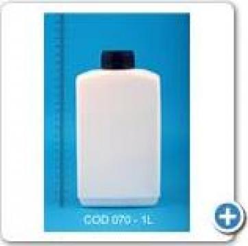 Recipient plastic la 1 l cu dop FI 38 de la Vanmar Impex Srl