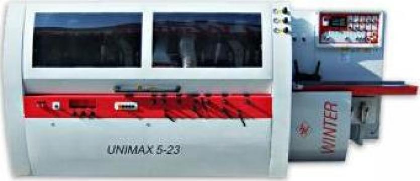 Masina de rindeluit pe 4 fete Winter Unimax 5-23 de la Seta Machinery Supplier Srl