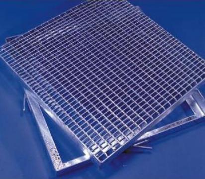 Gratare metalice Dovexim zincate presate