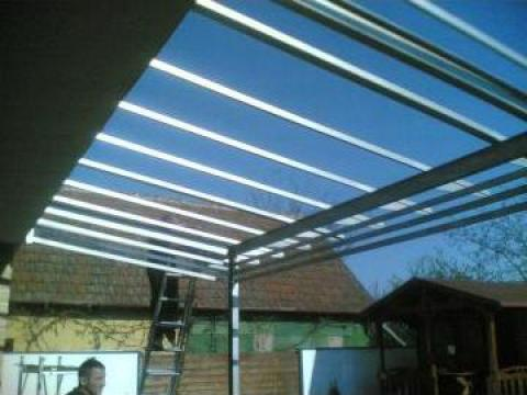 Copertina clara protectie UV antivandalism