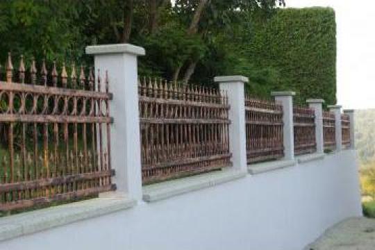 Gard si poarta fier forjat