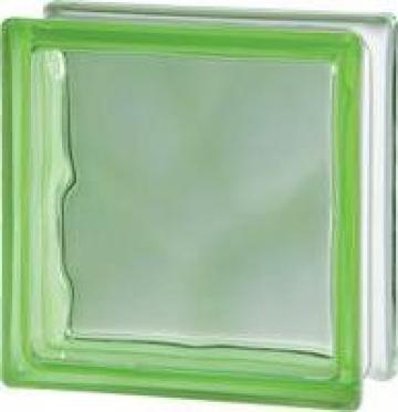 Caramida de sticla colorata in masa 1908 W Green de la Geo & Vlad Com Srl