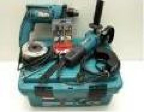 Set masina gaurit Makita HP1640+9557HN
