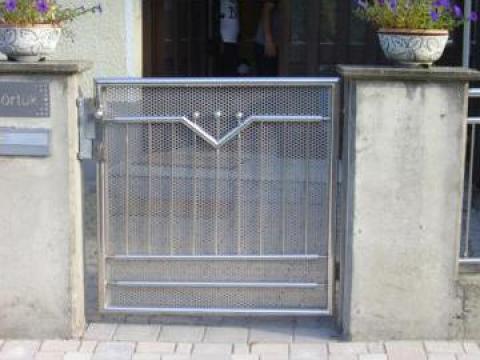 Porti si garduri inox Timisoara