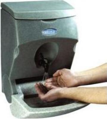 Chiuveta spalare maini apa calda cu rezervor 5 litri