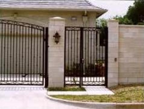 Garduri si porti din fier forjat Bucuresti