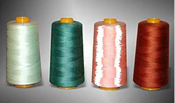 Ata de cusut finete 120, 100% polyester de la Emr Fermuar Romania