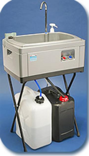 Chiuvete portabile Big Sink 50 litri cu boiler instant