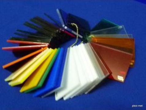 Placi plexiglas extruse sau turnate de la Sc Plexi-Met Srl