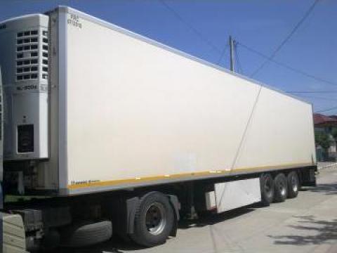 Semiremorca frigorifica Schmitz de la Ups Logistic
