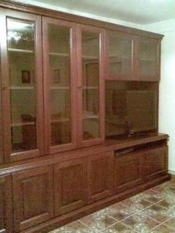 Mobila sufragerie din lemn masiv de la I. I. Gheorghita Ctin Neculai