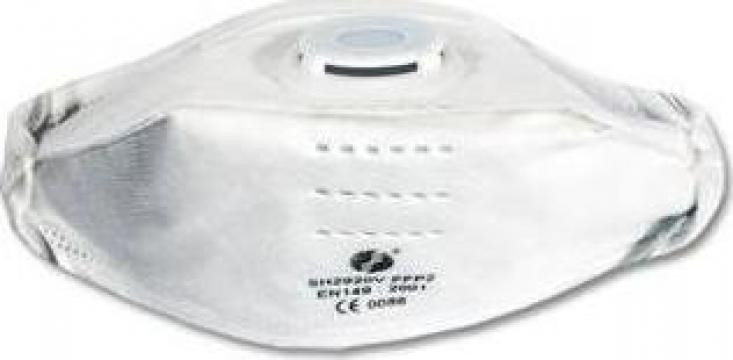 Masca protectie cu valve FFP2, supapa superioara de la I.N.P. Automotive Srl