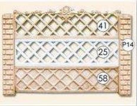 Gard placi beton cu fier forjat Nr. 41, 25, 58 de la Amonra Sun Srl