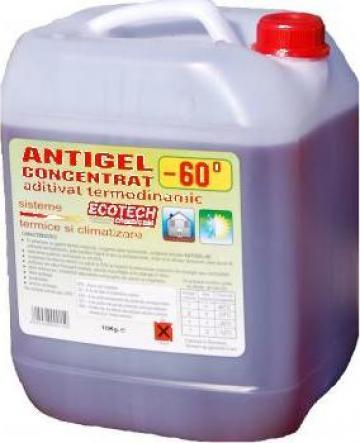 Antigel concentrat Ecotech - 60 grade C, 20 kg de la Ecoflam Srl