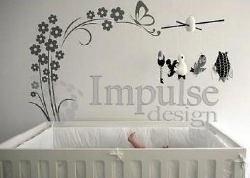 Sticker decorativ perete de la Impulse Design