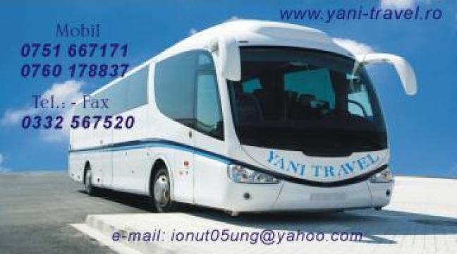 Transport persoane Botosani-Italia de la Yani Travel SRL