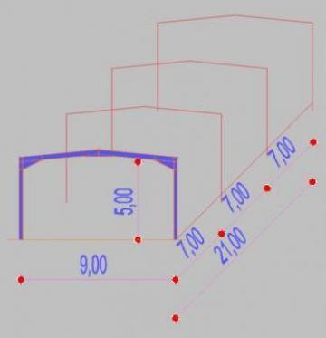 Structura Metalica la kit, costuri minime, montaj popular de la Contrust
