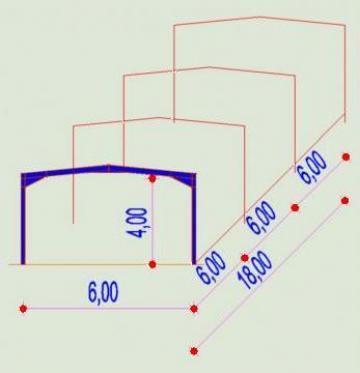 Structura Metalica depozit de la Contrust