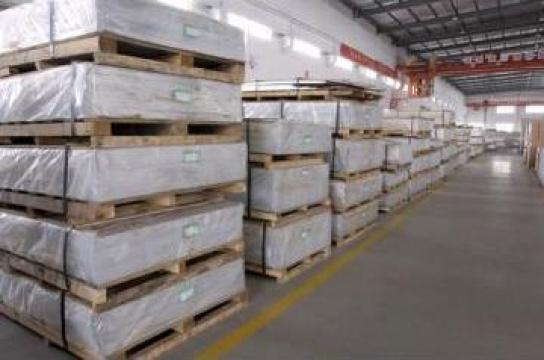Tabla aluminiu 1x1000x2000 mm, Al 99.5%, ENAW 1050 H24 de la MRG Stainless Group Srl