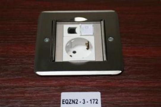 Clapa metalica pardosela 3 module de la Niedax Srl