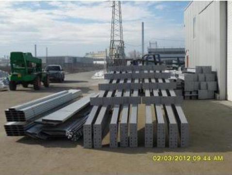 Structura metalica hala 580 mp de la TBM Pitesti