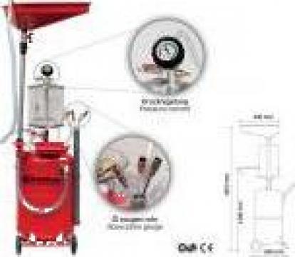 Recuperator, extractor ulei pneumatic
