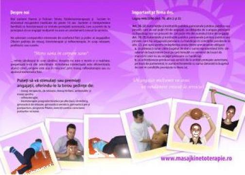 Servicii de masaj la birou de la Strete Hannemaria Intreprindere Familiala