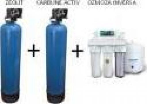 Instalatie filtrare contaminanti organici si anorganici