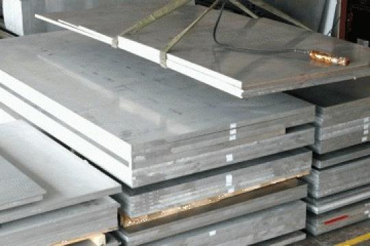 Tabla aluminiu 8x1000x2000 mm, en aw 5754, AlMg3