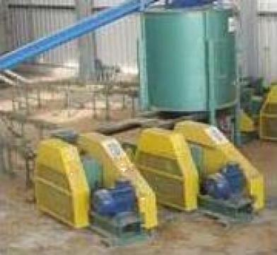 Linie productie bricheti din rumegus 1-1,4t/h