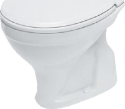 Vas WC Simplu Cersanit Roma (Evac Verticala) R20 de la Baza Tehnica Alfa Srl