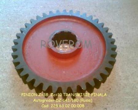 Roata dintata Z=38 (Z caneluri = 10) de la Roverom Srl