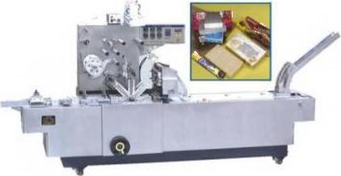 Instalatie automata de impachetat unt in folie de hartie