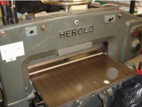 Ghilotina tipografica Herold 76