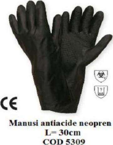 Manusi protectie antichimice neopren 5309 de la Katanca Srl