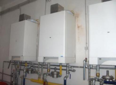 Montare si service centrale termice, aer conditionat de la S.c. El-san-termo S.r.l.