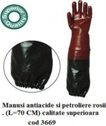 Manusi protectie antiacide lungi 3669 de la Katanca Srl