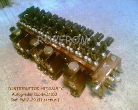 Distribuitor hidraulic autogreder DZ-143, DZ-180 de la Roverom Srl