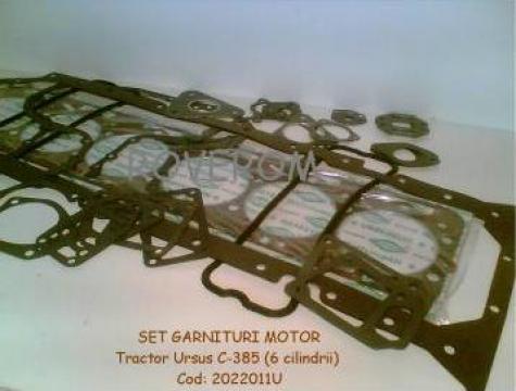 Set garnituri motor Tractor Ursus C-385 (6 cil.)